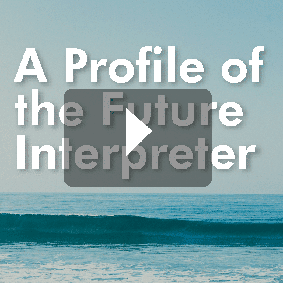Thumbnail of future interpreter video
