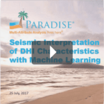 Seismic Interpretation of DHI Characteristics with Machine Learning