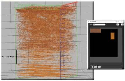 SOM classification for high pore pressure seismic data