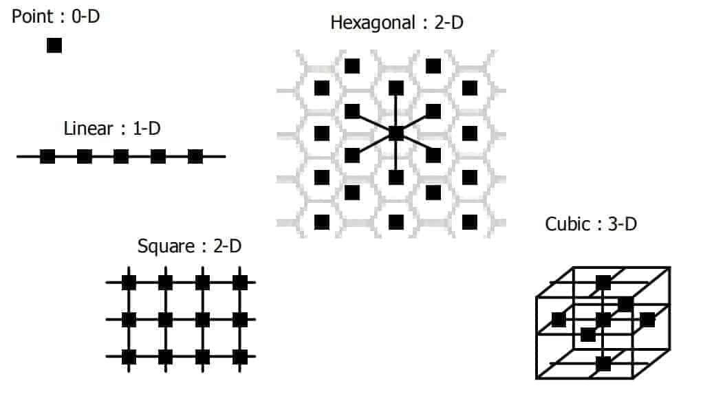 Neuron Network Topologies