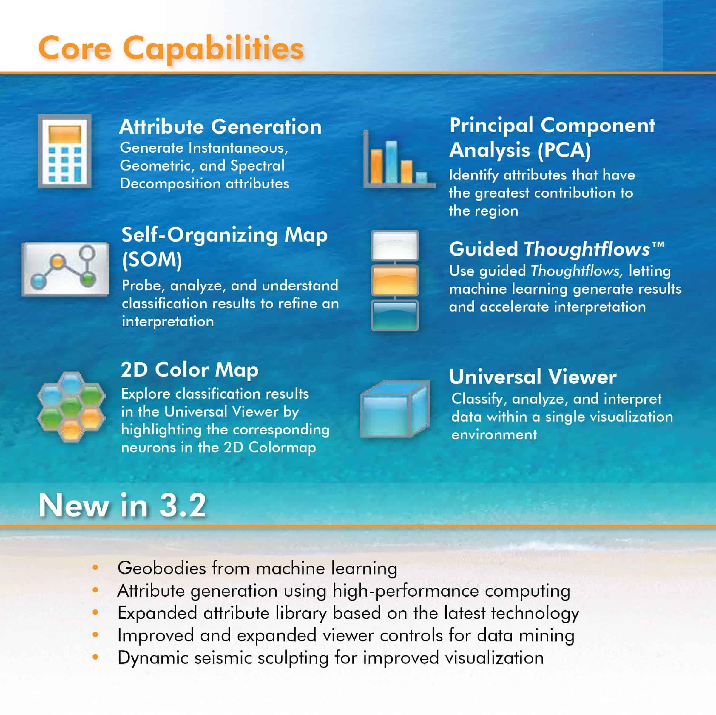 Paradise 3.2 Brochure - Seismic Interpretation Software - Core Capabilities