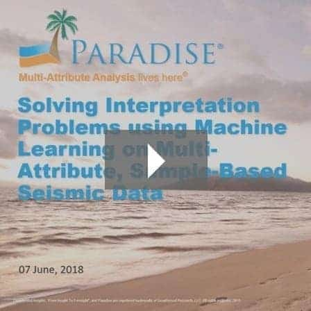 Solving Interpretation Problems using Machine Learning on Multi-Attribute, Sample-Based Seismic Data