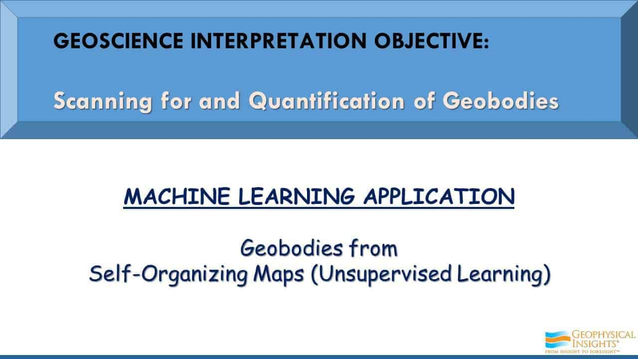 Geoscience Interpretation Objective