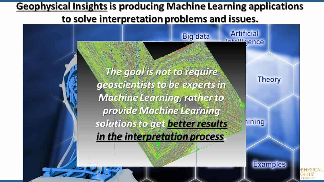 Geophysical Insights Machine Learning Applications