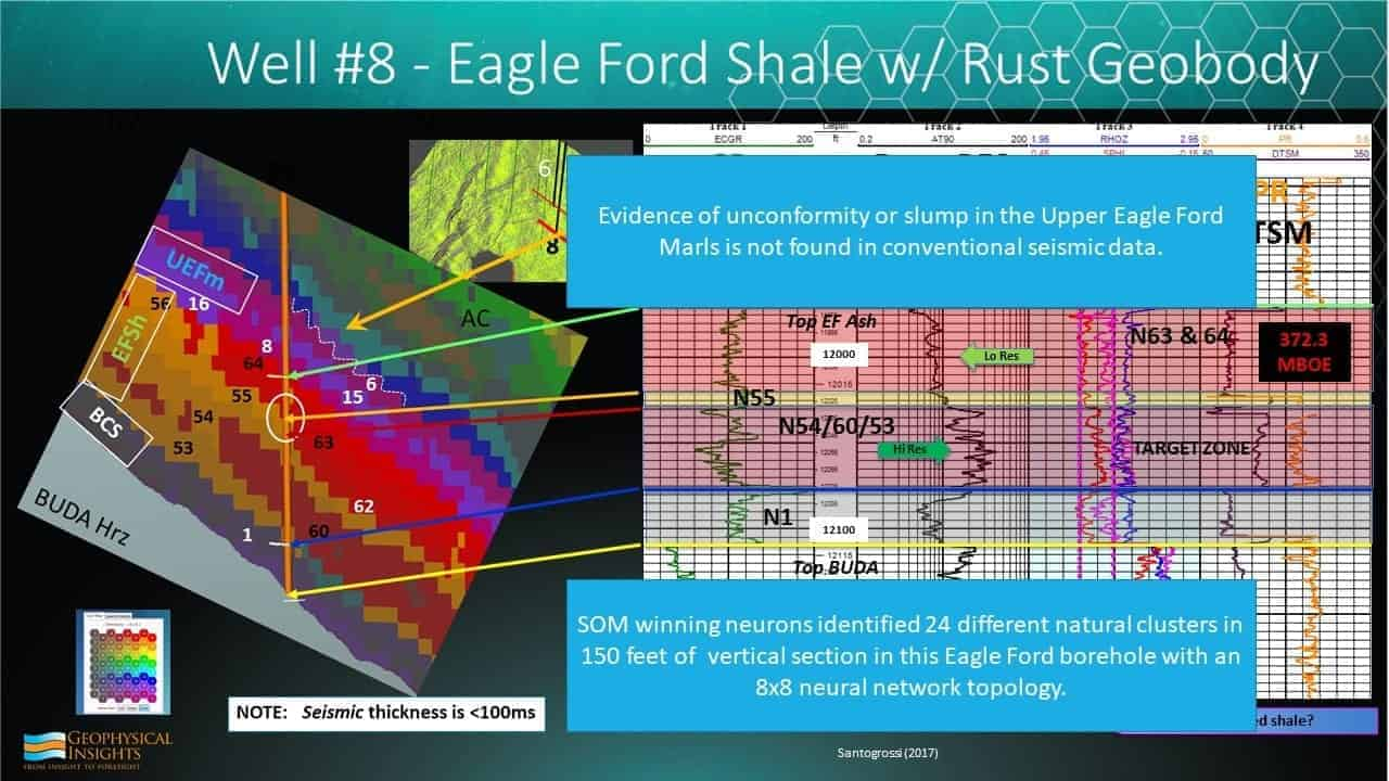 Slide image of eagle ford shale rust geobody