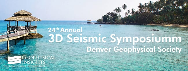 3D Seismic Symposium – Denver Geophysical Society