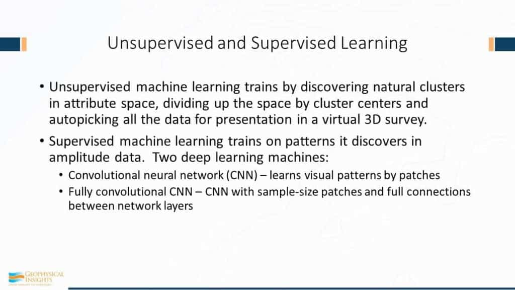 Unsupervised and Supervised Learning