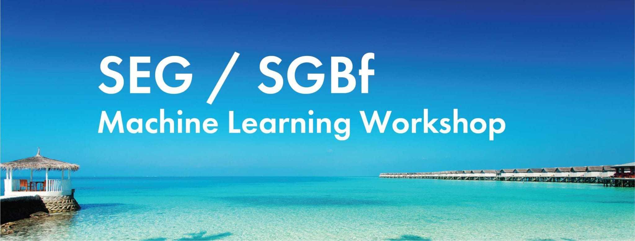 SEG/SBGf - Machine Learning Workshop