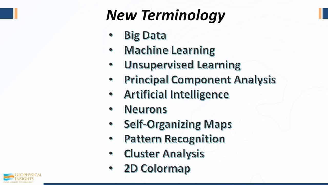 New terminology in seismic interpretation