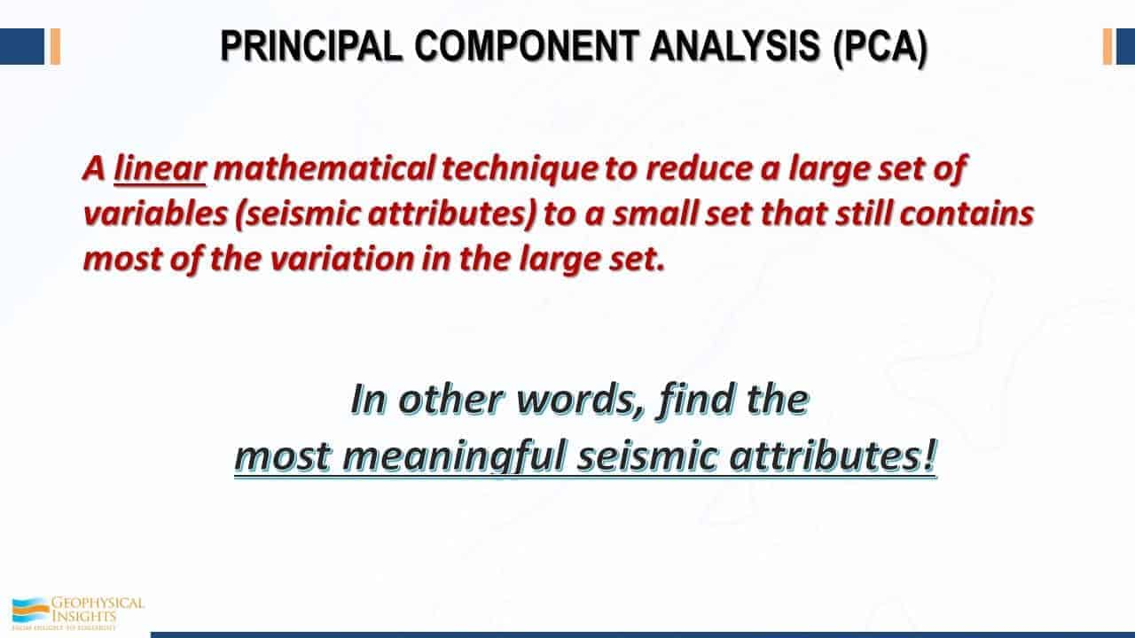 Slide image about PCA