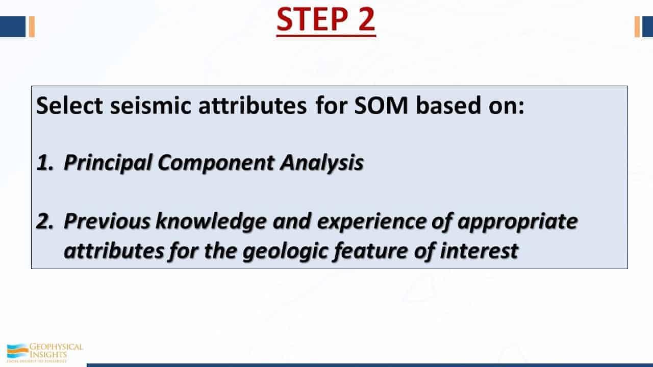 Step 2 seismic interpretation