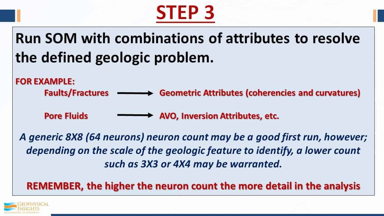 Step 3 seismic interpretation