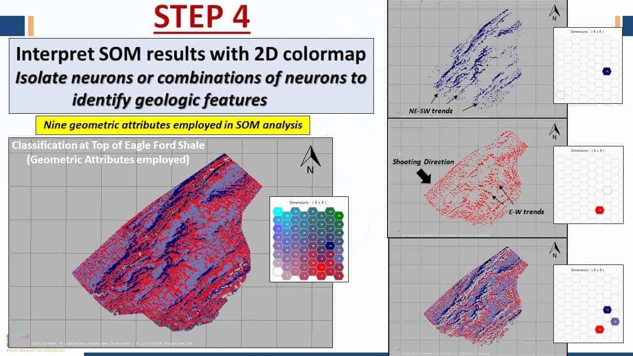 Step 4 seismic interpretation