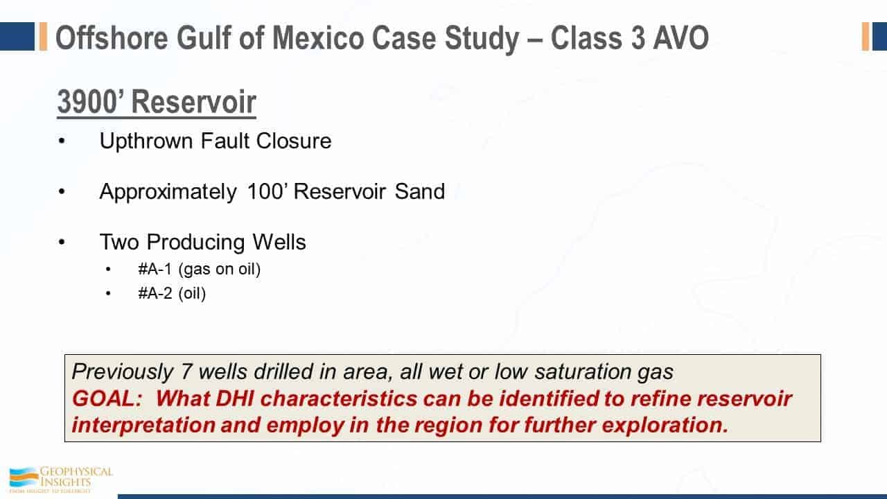 Offshore Gulf of Mexico Case Study - Class 3 AVO