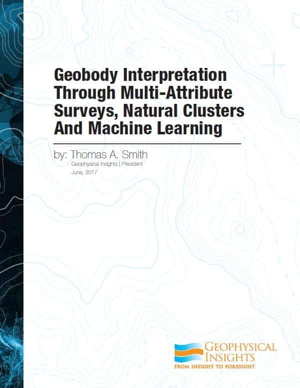 Geobody Interpretation Through Multi-Attribute Surveys, Natural Clusters and Machine Learning
