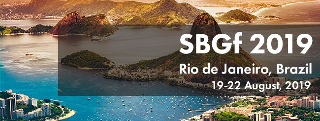 SBGf 2019 – Rio de Janeiro