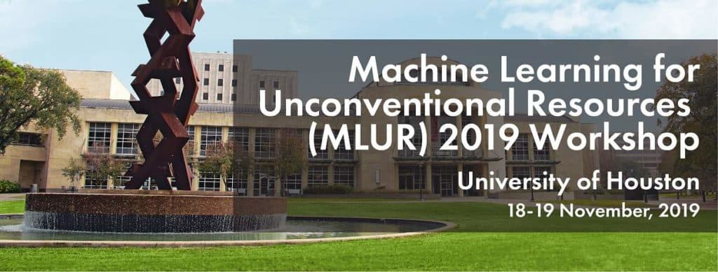 Machine Learning for Unconventional Resources 2019