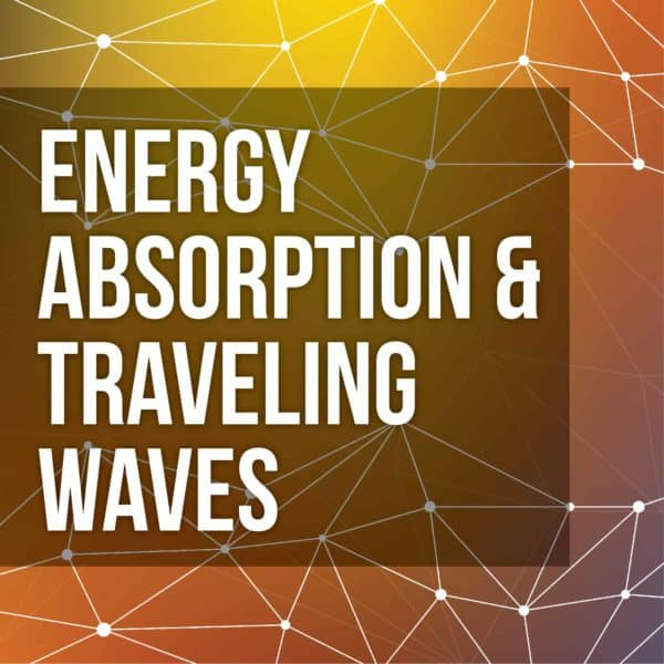 Energy Absorption and Traveling Waves