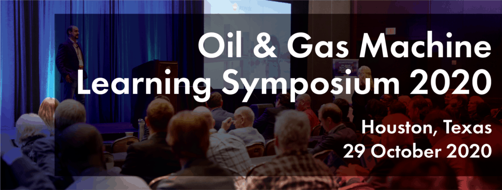 Seismic interpretation results shown at the 2020 Oil and gas machine learning symposium