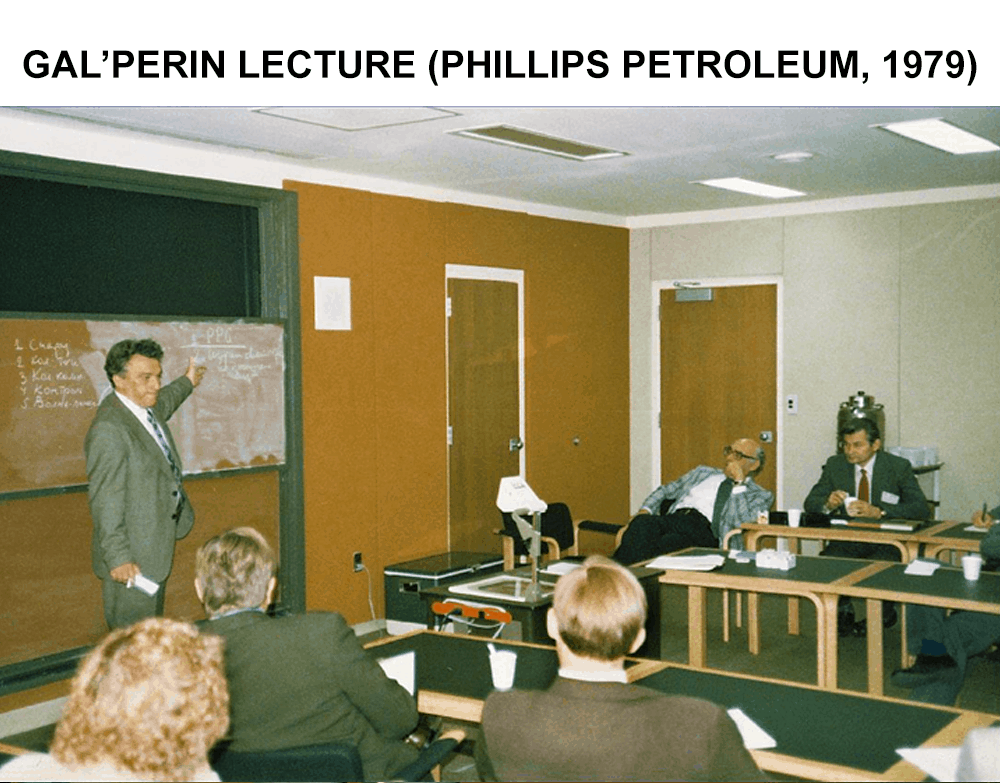 Gal'Perin Lecture Phillips Petroleum 1979 Part III