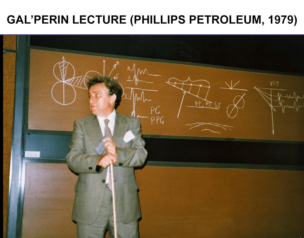 Gal'Perin Lecture Phillips Petroleum 1979