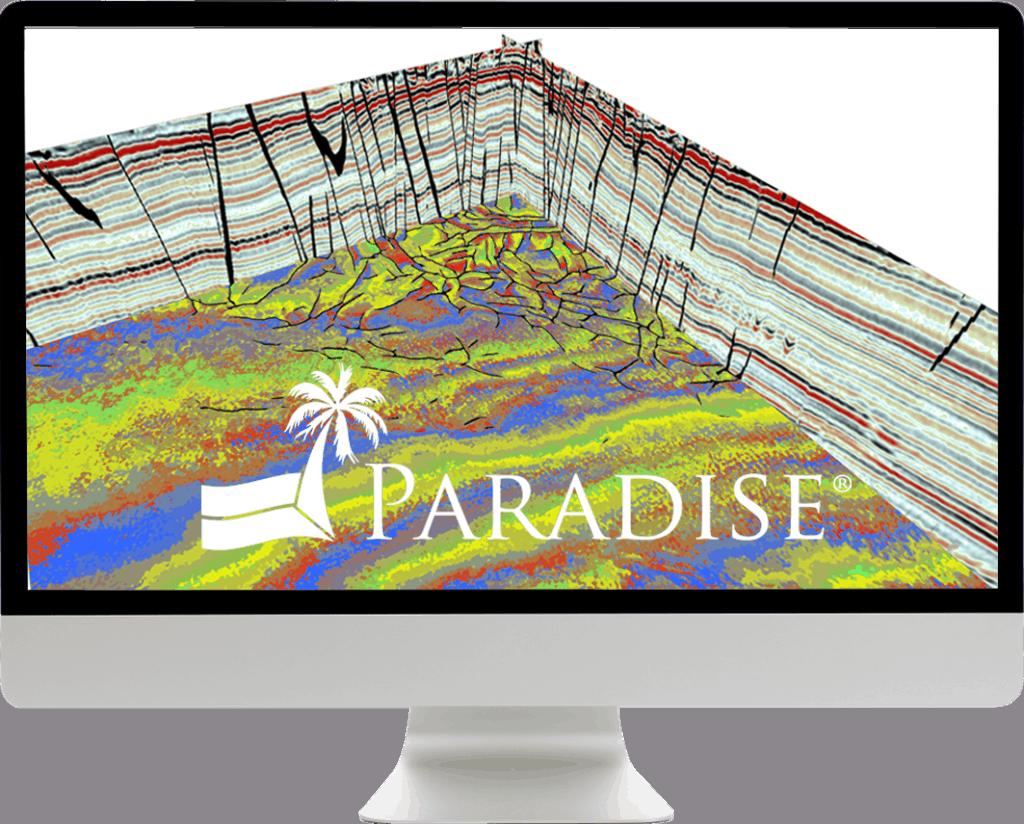 Paradise seismic interpretation software monitor