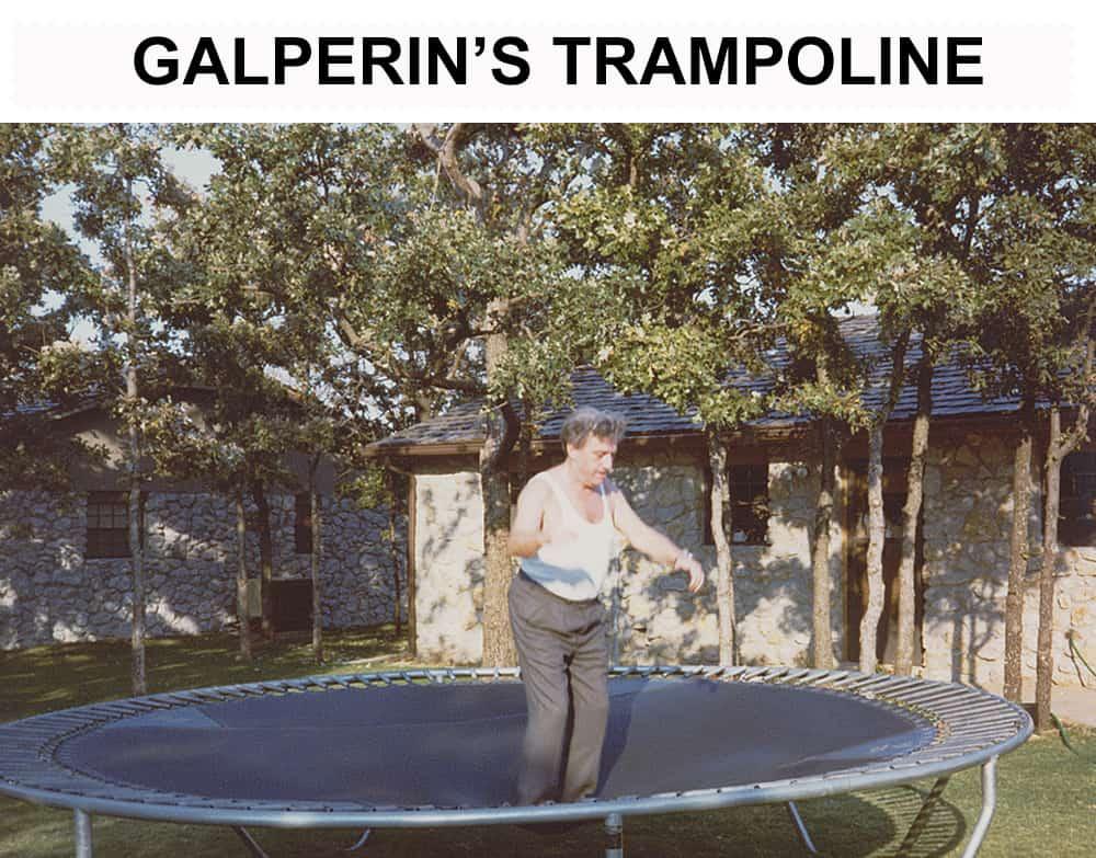 Gal'Perin's trampoline