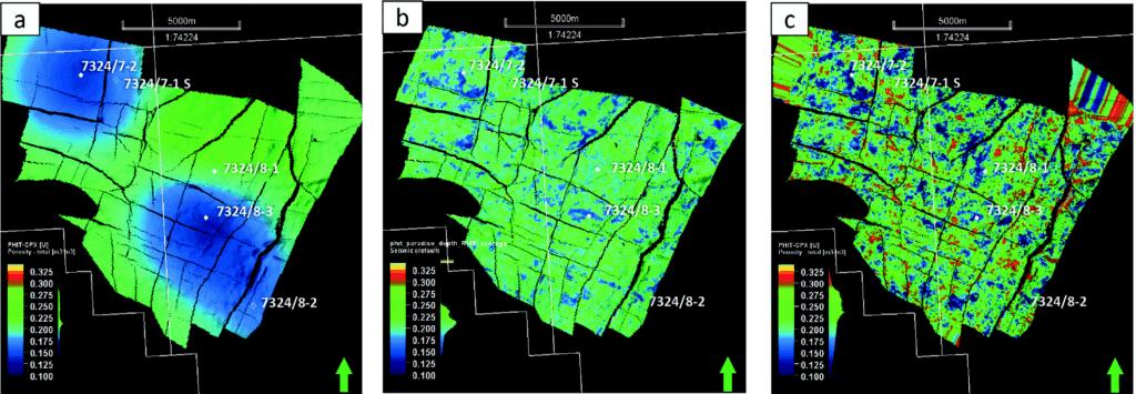 Machine learning for detailed reservoir description — Wisting case study Figure 10